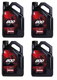 MOTUL 800 2T RACING TWO-STROKE OIL BOX OF 4