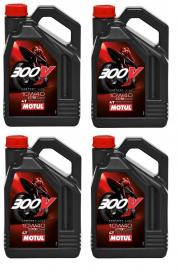 MOTUL 300V 10W40 4-LITRE ENGINE OIL BOX OF 4