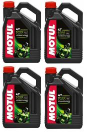 MOTUL 5100 ESTER 10W40 4-LITRE ENGINE OIL BOX OF 4