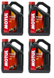 MOTUL 7100 GOLD 10W60 4-LITRE ENGINE OIL BOX OF 4