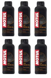 MOTUL AIR FILTER OIL 1-LITRE BOTTLES BOX OF 6