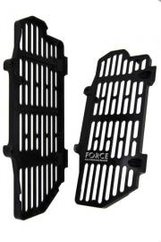 FORCE BILLET RADIATOR GUARDS HUSQVARNA FC250 2016-2017 BLACK