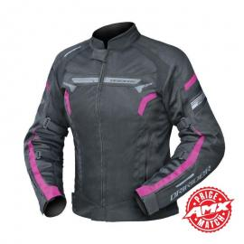 DRIRIDER AIR RIDE 4 LADIES JACKET BLACK/PINK