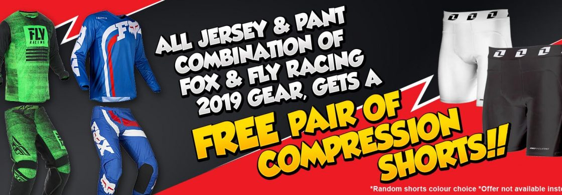 FREE UNDERSHORTS WITH GEAR COMBO