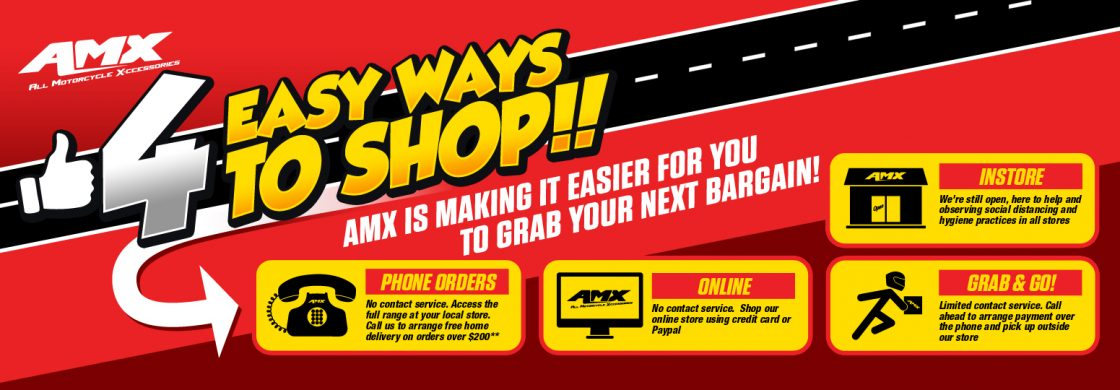 4 easy ways to shop